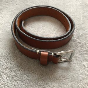 Coach Leather Belt size small